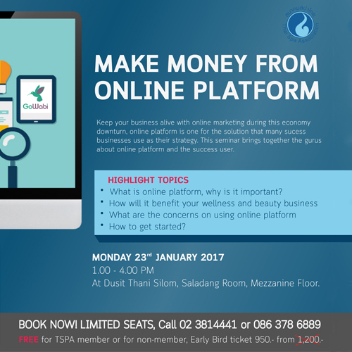 Make money from Online Platform