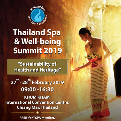 Thailand Spa & Well-being Summit 2019